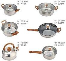 6 pièces Marmites Pour Cuisine Marmite À Soupe