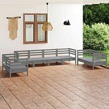 6 système letterbox en stand Anthracite / blanc