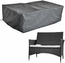 63x58x112CM bâche de protection mobilier de jardin