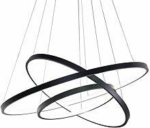 65 W LED 3 Anneaux Suspension, Moderne Circulaire