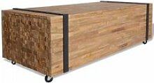 🐡6905Bon Table basse industriel - Table de