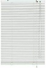 6923 Store vénitien en aluminium 25 mm Blanc 140