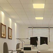 7 PCS grand panneau d'éclairage de bureau
