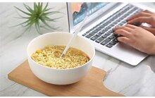 7 pouces, bol à soupe à nouilles en porcelaine