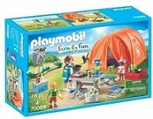 70089 playmobil tente et campeurs 70089
