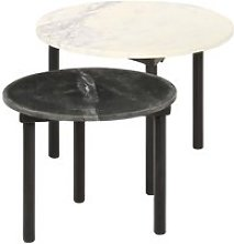 -7093Lot de 2 Tables basses gigognes Mode Table de