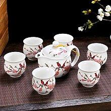 7pcs / set Nouvelle tasse de thé Ensemble complet