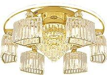 8 Lumière Moderne Cristal Suspension Plafonnier
