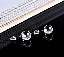 8 MM Boucles d'oreilles en Pierre Naturelle