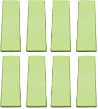 8 Pcs Vert CabinetHandle Tiroir Poignée Armoire