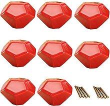 8 pièces boutons / poignées / poignées en