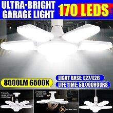 80W déformable éclairage industriel E27