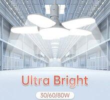 80W LED Garage allume 20/30/40/60W éclairage