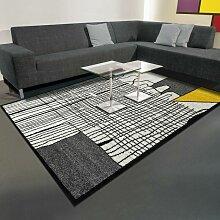80x150 - tapis berbère CITY Jaune tapis Couloir
