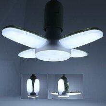 85-265V Pliable LED Ampoule E27 28W Mini pale de