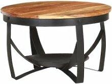 86542-Vintage Table Café - Table basse Luxueux