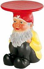 882200 Tabouret nain de jardin Gnome Napoleon -