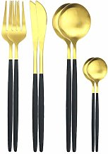 8pcs Couverts Set Couteaux Forks cuillère à thé