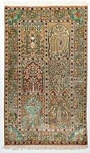 95x155 Authentique tapis d'Orient entièrement