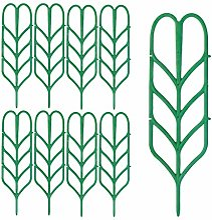 9x Plant Vines Support Stakes Outil de jardinage