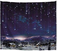A.Monamour Nuit Étoilée Ciel Étoiles Filantes