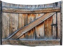 A.Monamour Tapisserie Murales Fond De Planches De