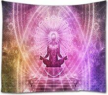 A.Monamour Tapisserie Murales Zen Méditation Yoga