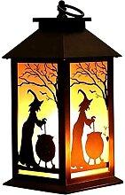 AACXRCR Feu de feu Feu de folie Lampe Halloween