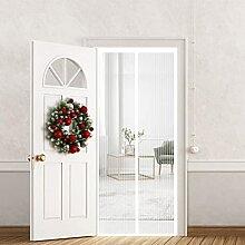 aasdf Moustiquaire de porte 70 x 240 cm avec joint