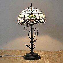 AAZX Lampe de table style Tiffany style baroque