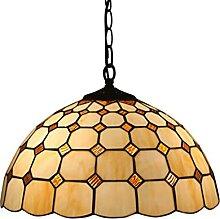AAZX Lustre de plafond vintage style Tiffany 40,6