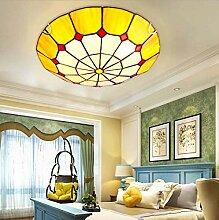 AAZX Plafonnier à LED style Tiffany - Style