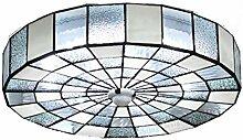 AAZX Plafonnier style Tiffany - Suspension ronde