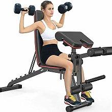 aBaby Banc de Musculation Multifonction Pliable