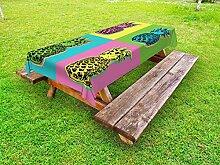ABAKUHAUS Ananas Nappe Extérieure, Summer Pop Art
