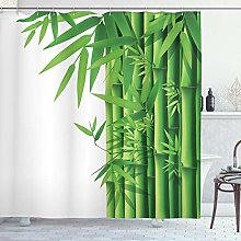 ABAKUHAUS Bambou Rideau de Douche, Moderne Bambous
