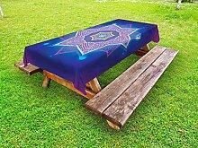 ABAKUHAUS Mandala étoiles Nappe Extérieure, Art