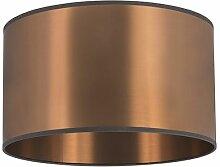 Abat jour 35/35/20 cuivre Qazqa Moderne Cylindre /