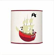 Abat-jour bateau pirate - d35 cm