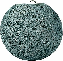 Abat-jour boule suspension coton