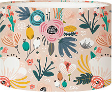 Abat-jour chevet Floral Nymphéa D 25 x H 20