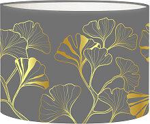 Abat-jour chevet Iris Gris D 25 x H 20