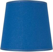 Abat-jour conique bleu - plusieurs dimensions