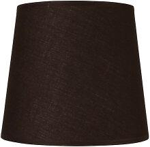 Abat-jour conique noir - plusieurs dimensions