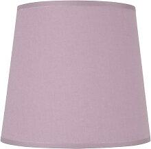 Abat-jour conique violet - plusieurs dimensions