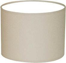 Abat-jour cylindre couleur chanvre