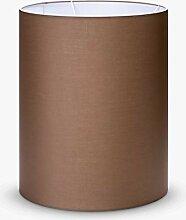 Abat-jour cylindrique en tissu - Culot E27 -