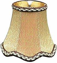 Abat-jour de Lampe en Tissu Délicat Style
