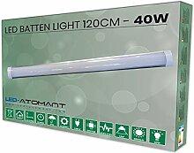 Abat-jour de luminaire 120 cm, 40w, couleur blanc