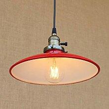 Abat-Jour de Plafond Industriel - E27 Ampoule Loft